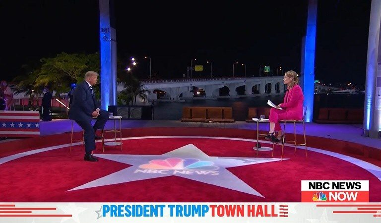 "Trump Seems To Snap After Being Pushed By Savannah Guthrie To Denounce QAnon: ""So Cute"""
