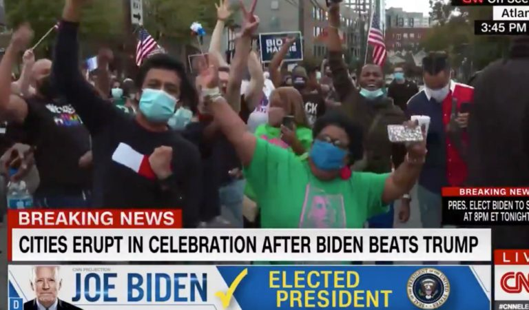 CNN Goes Live With Crowd Singing F*ck Donald trump