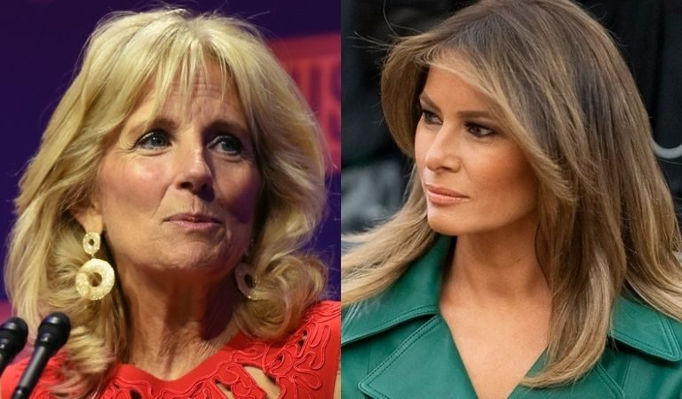 Conservative Site Appears Jealous That People Love Jill Biden's Scrunchie But Ignored Melania's Designer Clothing
