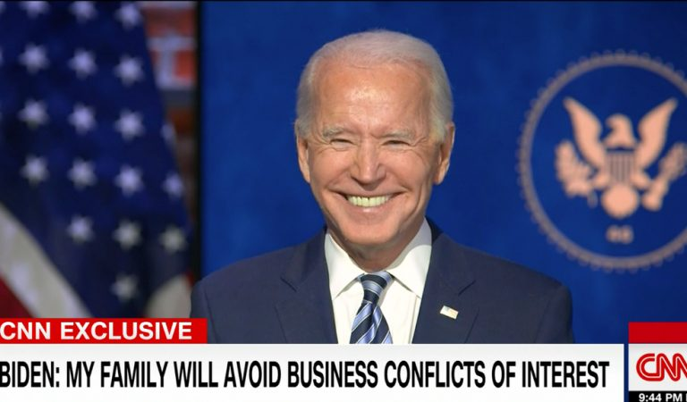 See Joe Biden's Response After CNN Host Asks Him If It's Important For Trump To Attend His Inauguration