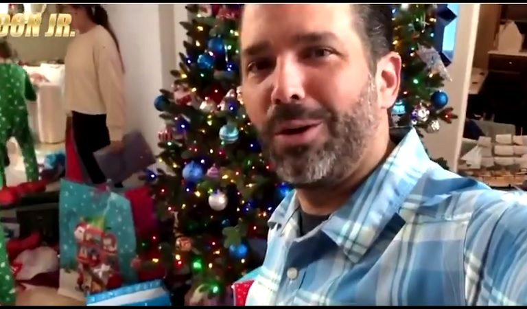 Don Jr. Ripped To Shreds After Posting Obscenely Tone Deaf Video Of Christmas Gifts While Millions Of Americans Can't Pay Rent