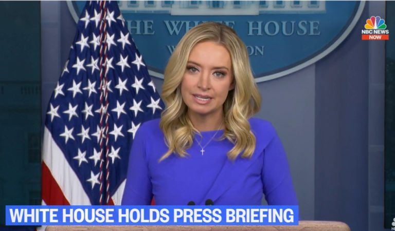 """Jim Acosta To Kayleigh McEnany As She Left Presser: """"Isn't It Hypocritical Of You To Accuse Others Of Disinformation When You Spread It Everyday?"""""""