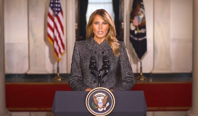 "Melania Trump Just Released Her ""Farewell Message"" And Americans Are Not Impressed: ""30 Seconds In And I Had To Stop Watching"""