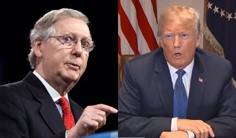 "Mitch McConnel Goes There, Says The Mob At The Capitol ""Was Fed Lies, And Were Provoked By The President And Other Powerful People"""