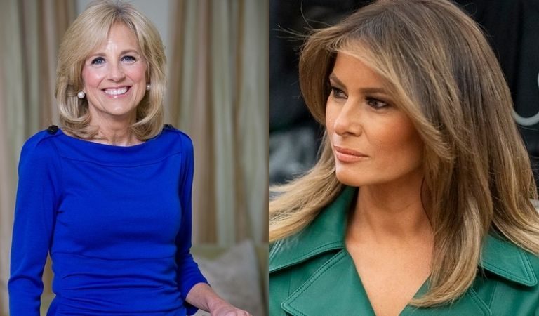 Conservative Site Appeared Jealous That People Loved Jill Biden's Scrunchie But Ignored Melania's Designer Clothing