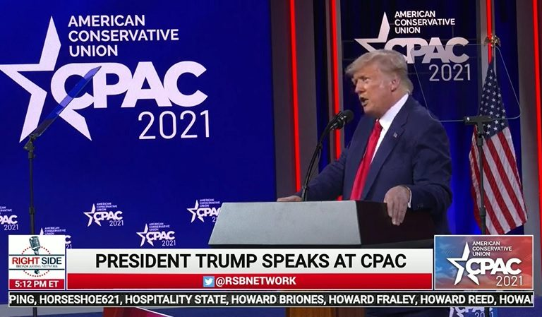 "Delusional Trump Gets Standing Ovation After He Tells CPAC Audience That He May ""Decide To Beat [Democrats] For A Third Time"""