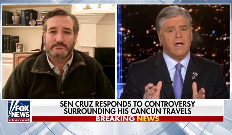 Sean Hannity Tried To Defend Ted Cruz Over Cancun Trip, Was Contradicted By Cruz Himself On Live Show