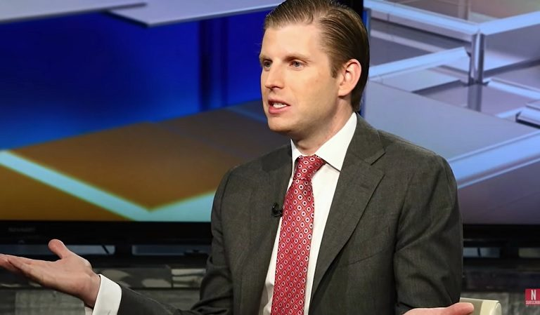 Eric Trump Responds To Scottish Parliament's Investigation Into Family Properties And Does Nothing To Make Things Better