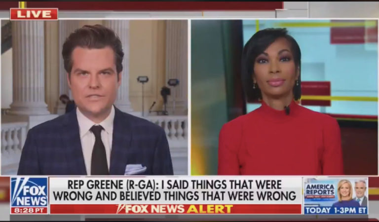"""Matt Gaetz On Marjorie Taylor Greene's Bonkers Press Conference: """"That Was So Good I Almost Had To Smoke A Cigarette Afterwards"""""""