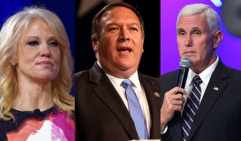 Mike Pence, Kellyanne Conway, And Mike Pompeo Are Reportedly Looking Into Book Deals About Their Time During The Trump Administration