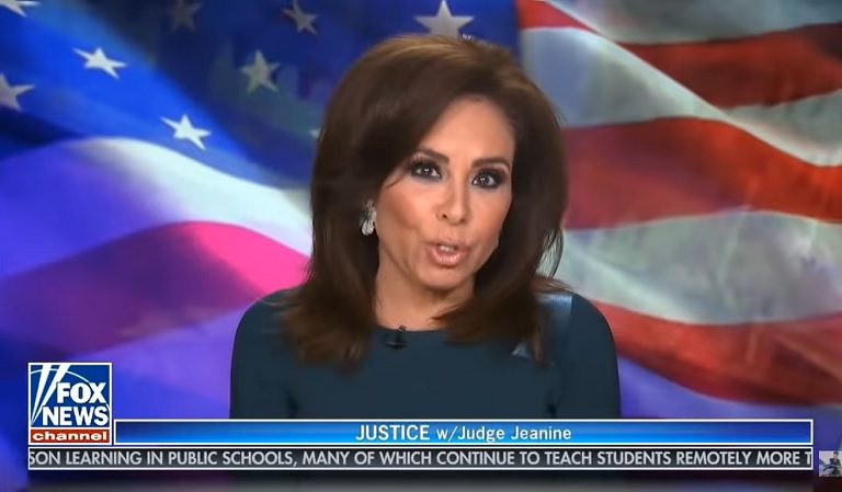 """Fox News' Jeanine Pirro Abruptly Ended Her Segment When Guest Said President Biden Is """"Making America Great Again"""""""