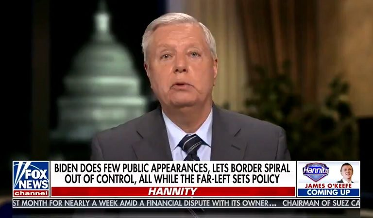 Lindsey Graham Launched A Nasty Attack Against President Biden And Twitter Users Immediately Served It Right Back