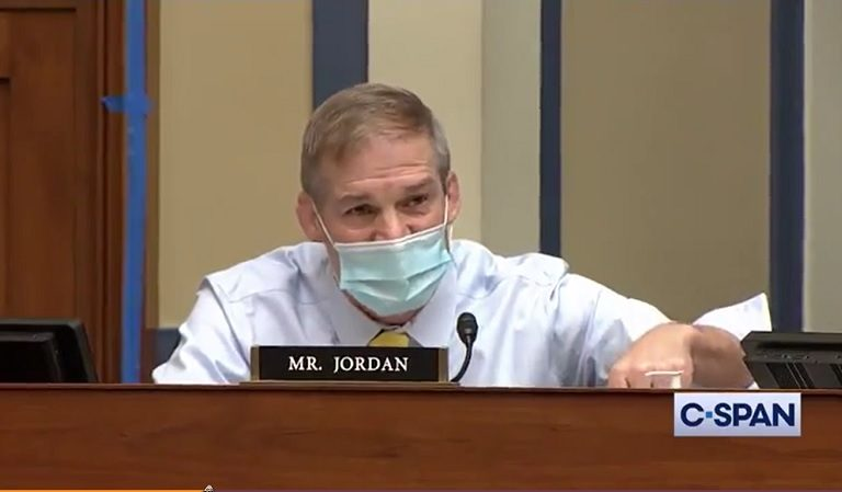 """Rep. Maxine Waters Goes Scorched Earth On Jim Jordan, Tells Him To """"Shut Your Mouth"""""""
