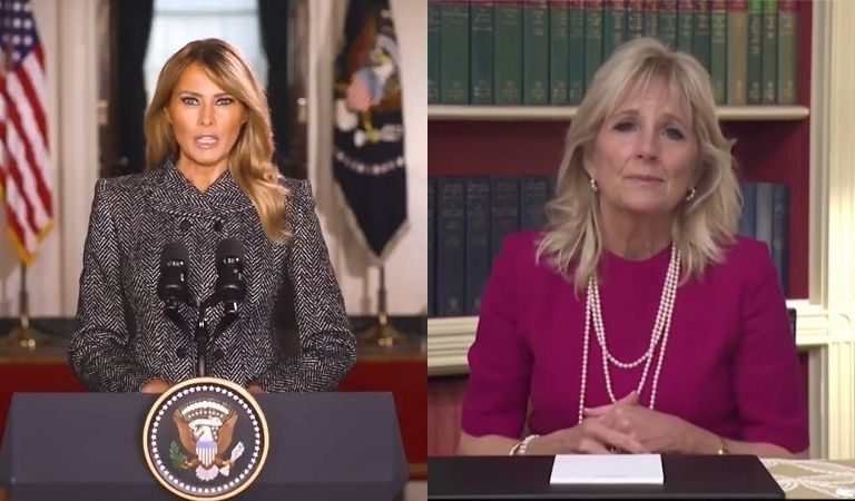 """Conservatives Are Making Fun Of Jill Biden's Spanish, Bragging That Melania """"Is Fluent In 5 Languages,"""" Twitter Takes Them To Task"""