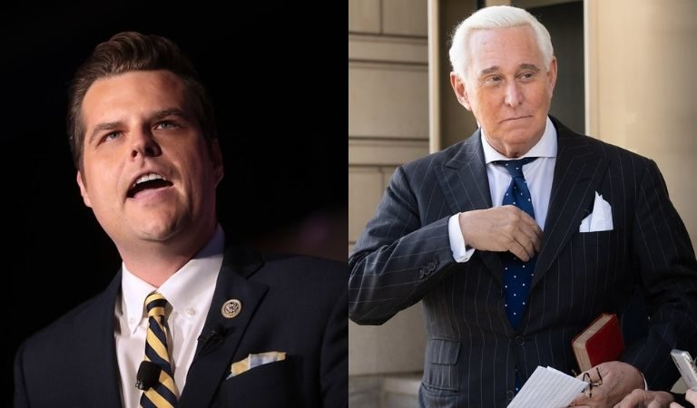 Roger Stone Appeared To Give Matt Gaetz Advice Amid Scandal And It Could Make Things So Much Worse For The GOP Congressman