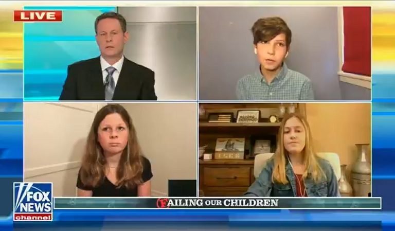 Fox News Host Appears To Get Irritated With 6th Grader Guest For Criticizing Trump And Saying Biden Is Doing A Good Job