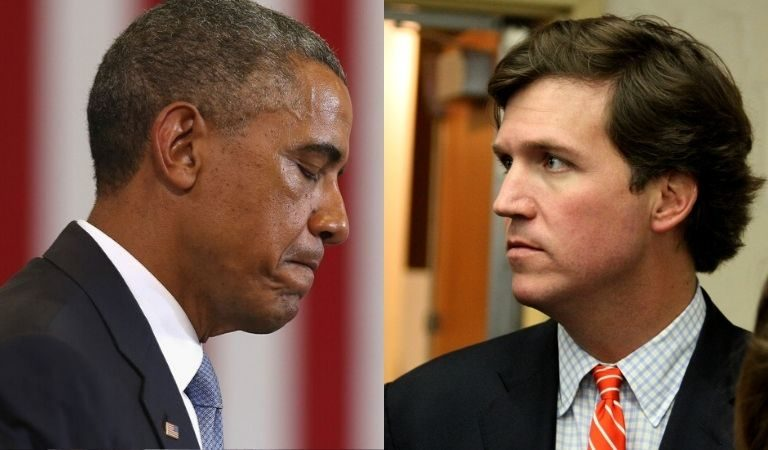"Tucker Carlson Referred To Barack Obama As ""Some Creepy Old Guy"" And Americans Are Letting Him Have It"