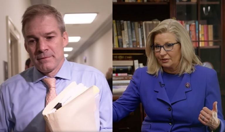 """Rep. Liz Cheney Reportedly Smacked Jim Jordan's Hand Away When He Tried To Open The Door For Her During Capitol Attack: """"Get Away From Me. You F*cking Did This."""""""