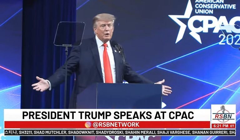 """Trump Jokes About Being Impeached Twice: """"I Didn't Change, I Became Worse"""""""