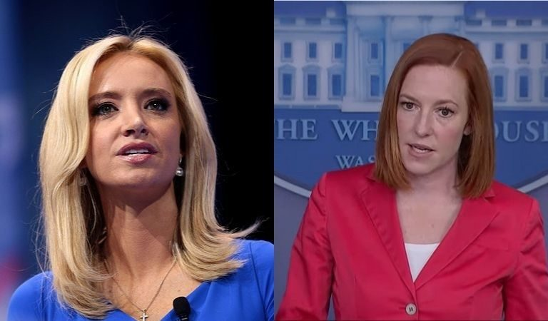 Kayleigh McEnany Just Reminded Us Why Jen Psaki Is So Much Better Than Her After She Told Big Lie About Founding Fathers On Fox Panel
