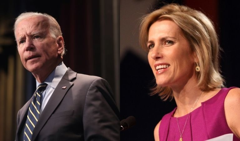People Are Disgusted After Fox News' Laura Ingraham Openly Mocked President Biden's Stutter