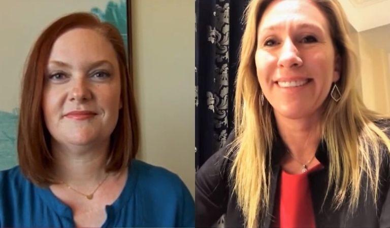Lt. Col. Alexander Vindman's Wife Destroys Marjorie Taylor Greene After Greene Praises Trump On Social Media