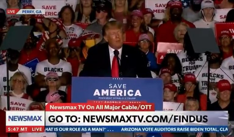 Trump Seemed To Publicly Question Whether Barack Obama's Second Election Win Was Stolen From Republicans During GA Rally
