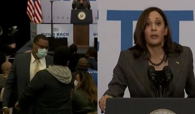 Kamala Harris Was Heckled During Recent Speech, But Her Response Floored Us