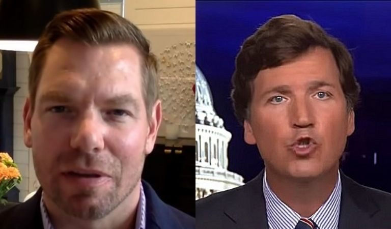Rep. Eric Swalwell Just Released A Voicemail Sent To Him By Tucker Carlson Fan And It Will Send Chills Down Your Spine